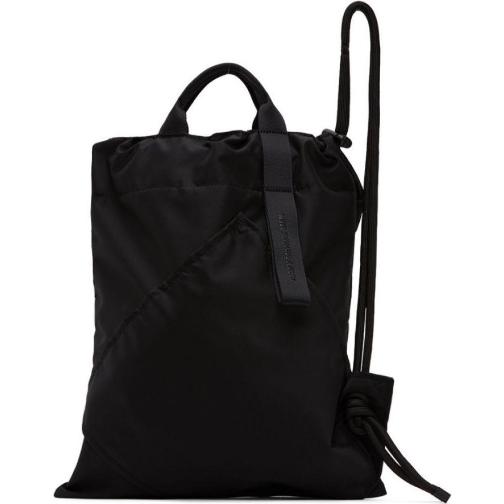 イッセイ ミヤケ Issey Miyake Men メンズ バックパック・リュック バッグ【Black Kinchaku Backpack】Black