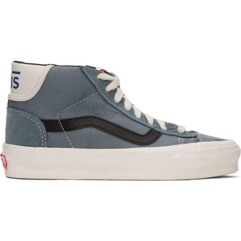 ヴァンズ Vans メンズ スニーカー シューズ・靴【Blue OG Mid Skool LX Sneakers】Lead