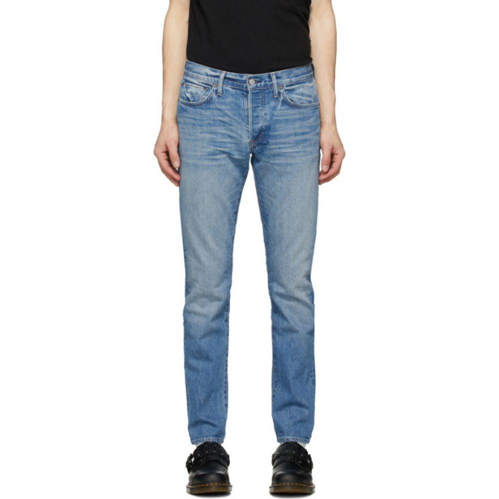 リダン Re/Done メンズ ジーンズ・デニム ボトムス・パンツ【Blue Light Slim Fit Jeans】Light