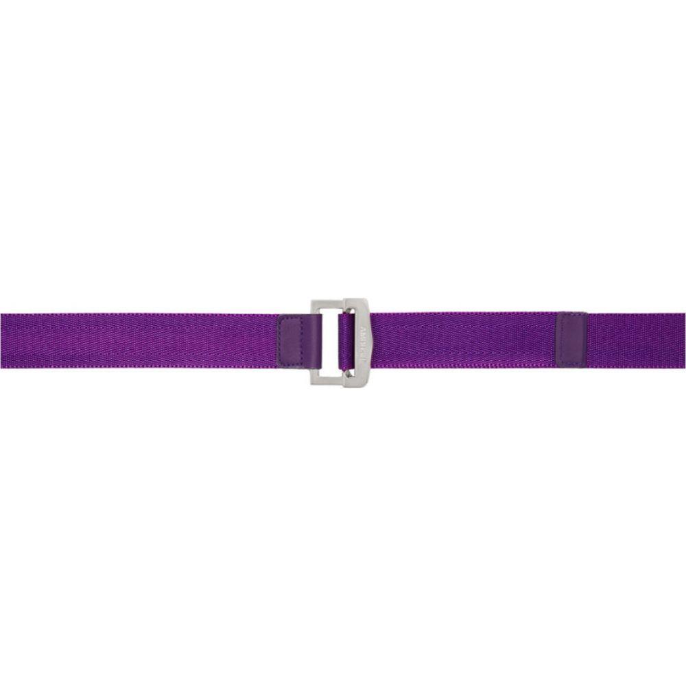 アンブッシュ Ambush メンズ ベルト 【Purple Buckle Belt】Purple