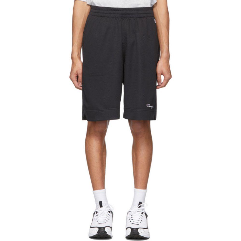 チャンピオン Champion Reverse Weave メンズ バスケットボール ショートパンツ ボトムス・パンツ【Black Mesh Basketball Shorts】Black