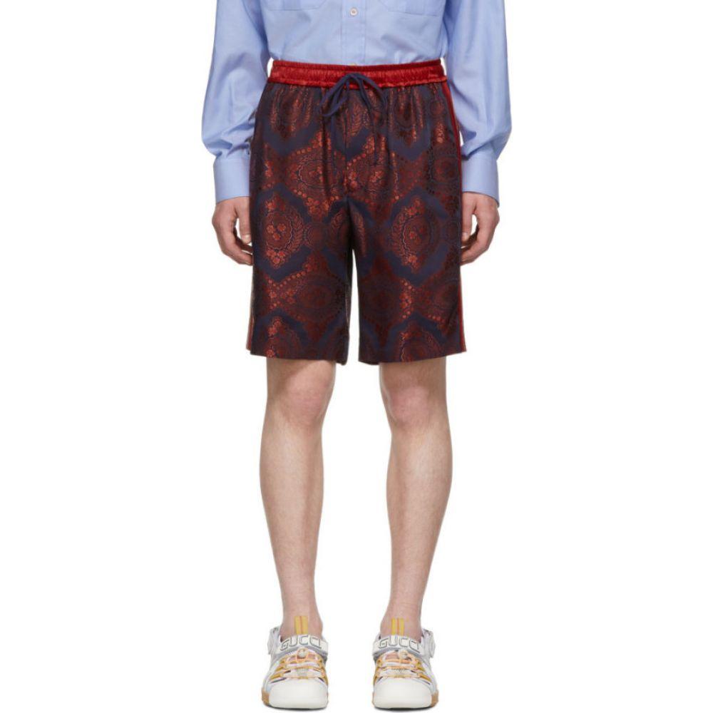 グッチ Gucci メンズ ショートパンツ ボトムス・パンツ【Red Paisley Bowling Shorts】Red