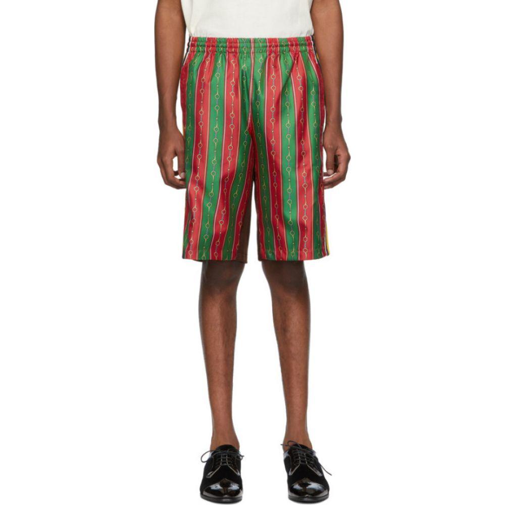 グッチ Gucci メンズ ショートパンツ ボトムス・パンツ【Multicolor Silk Drawstring Shorts】