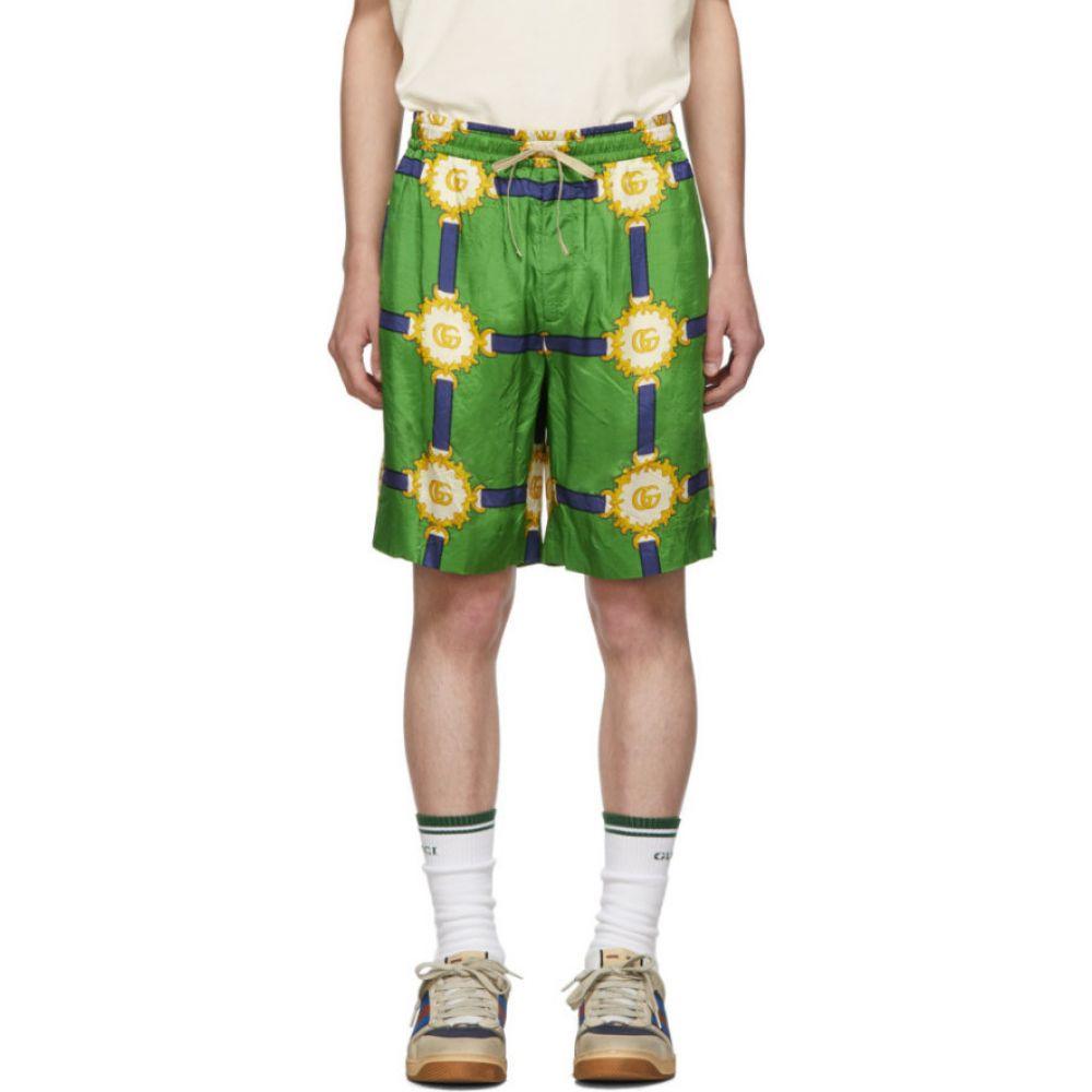 グッチ Gucci メンズ ショートパンツ ボトムス・パンツ【Green GG Marmont Shorts】Green