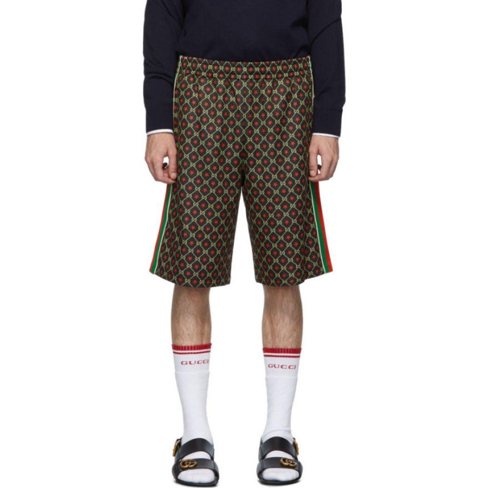 グッチ Gucci メンズ ショートパンツ ボトムス・パンツ【Black GG Star Shorts】Black