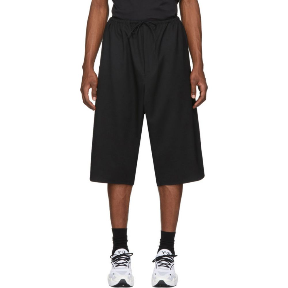 ワイスリー Y-3 メンズ ショートパンツ ボトムス・パンツ【Black 3-Stripes Shorts】Black