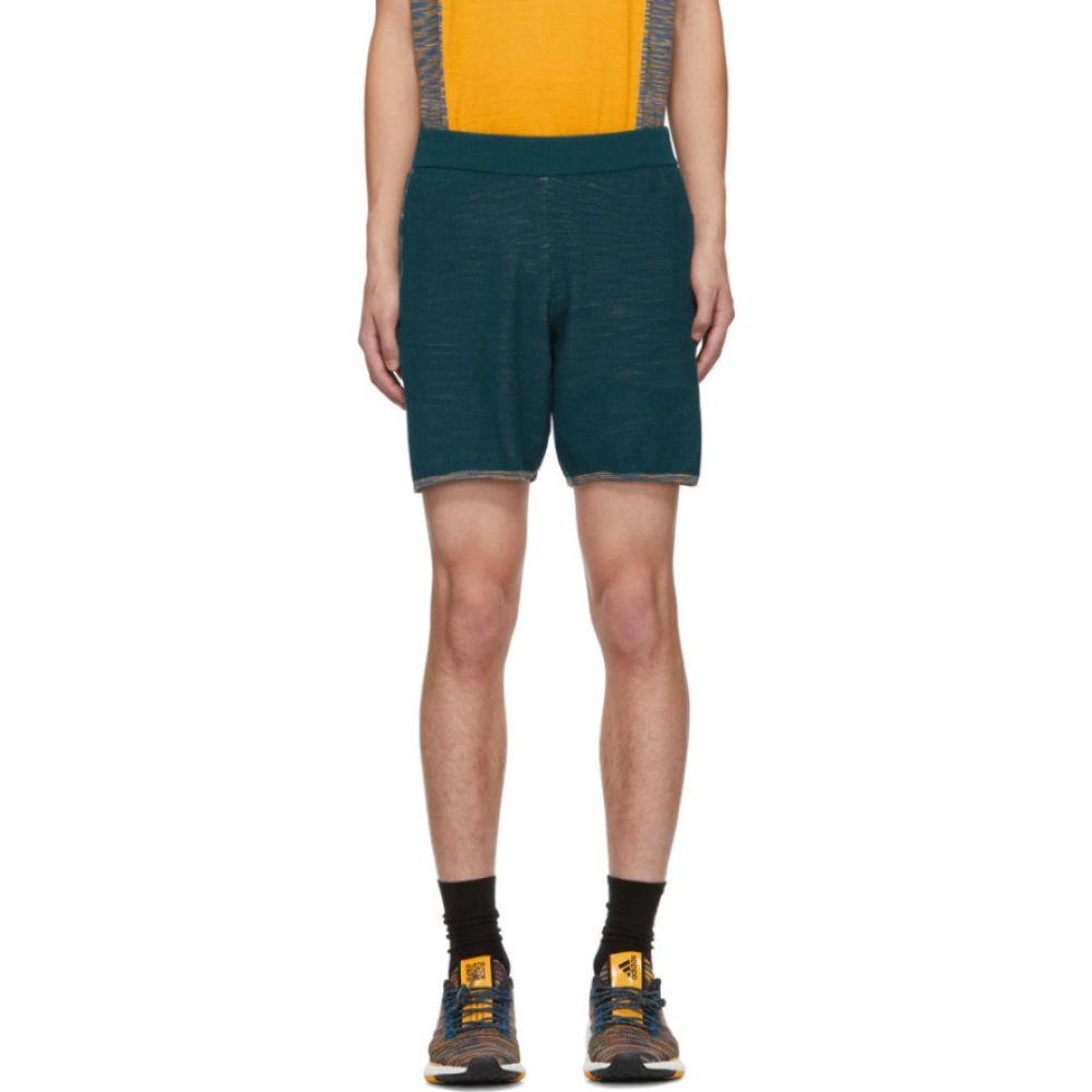 アディダス adidas x Missoni メンズ ショートパンツ ボトムス・パンツ【Blue Saturday Shorts】Mineral