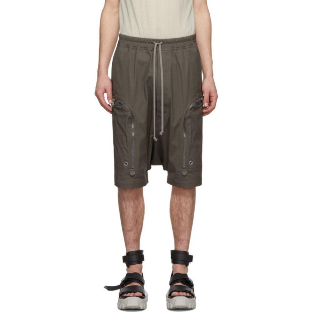 リック オウエンス Rick Owens メンズ ショートパンツ カーゴ ボトムス・パンツ【Grey Pods Cargo Shorts】Dust
