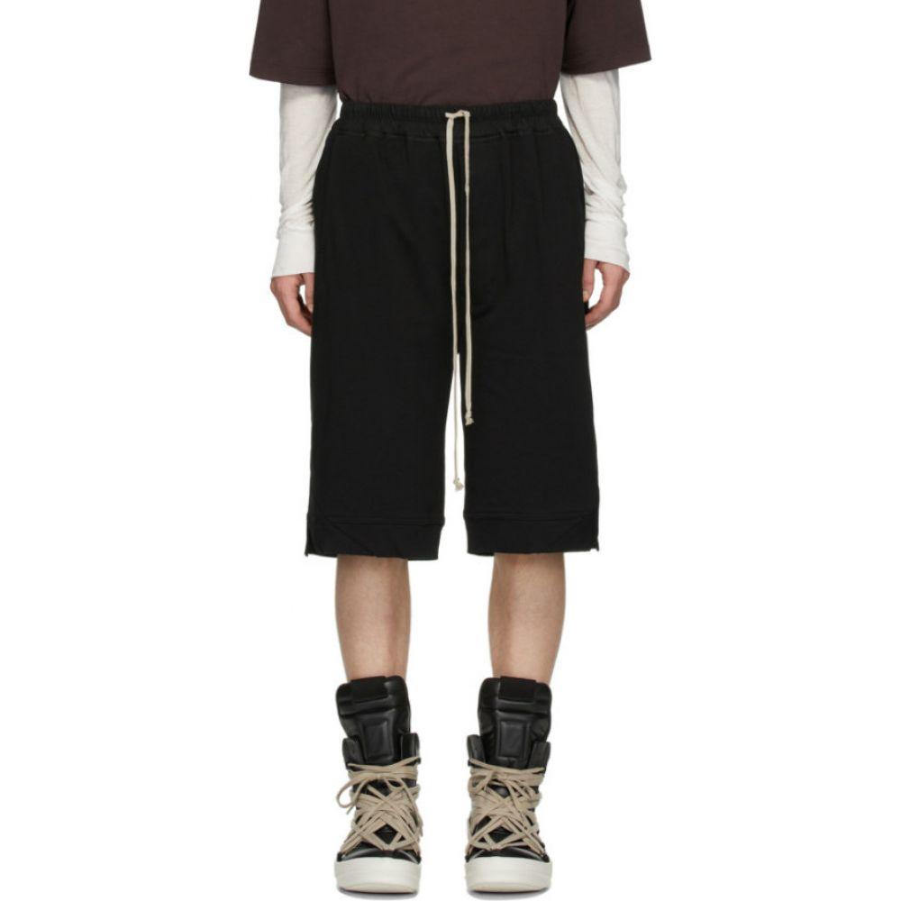 リック オウエンス Rick Owens メンズ ショートパンツ ボトムス・パンツ【Black Karloff Boxer Shorts】Black