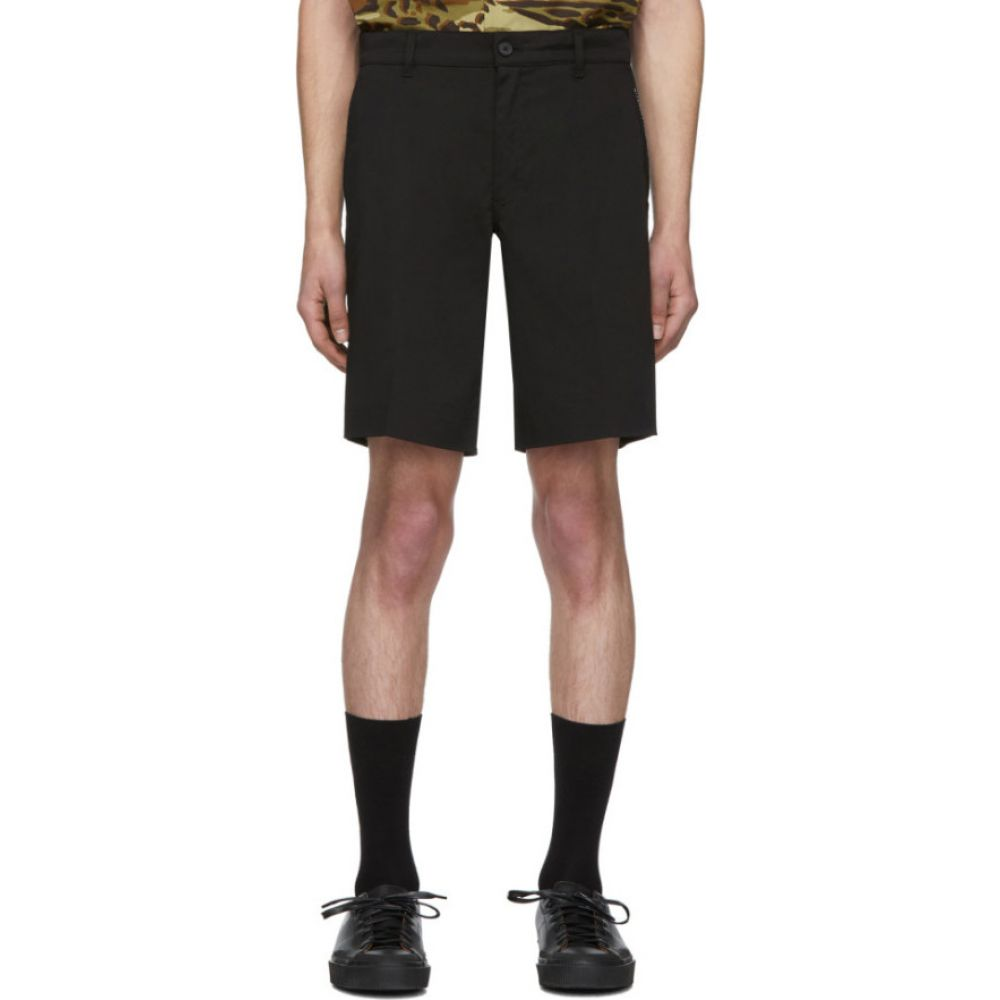 ジバンシー Givenchy メンズ ショートパンツ ボトムス・パンツ【Black Classic Stretch Shorts】Black