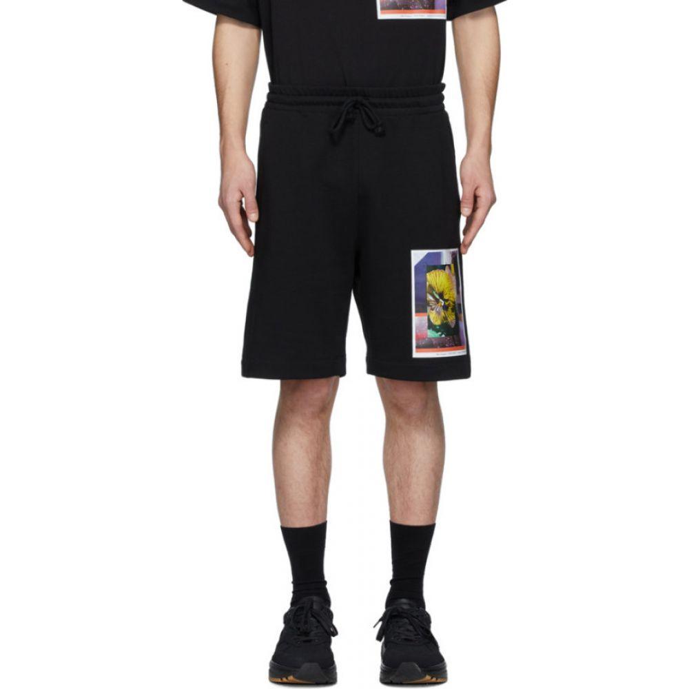 ドリス ヴァン ノッテン Dries Van Noten メンズ ショートパンツ ボトムス・パンツ【SSENSE Exclusive Black Mika Ninagawa Edition Print Shorts】Black