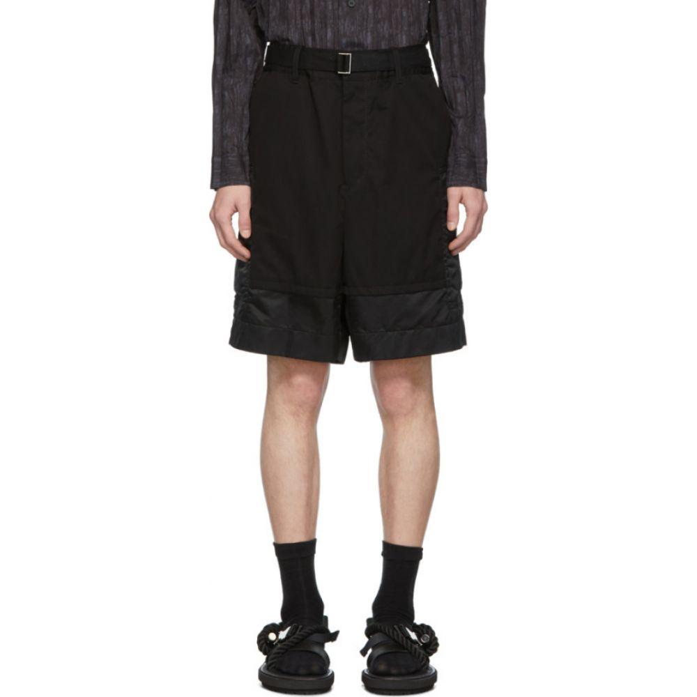 サカイ Sacai メンズ ショートパンツ ボトムス・パンツ【Black Combo Shorts】Black