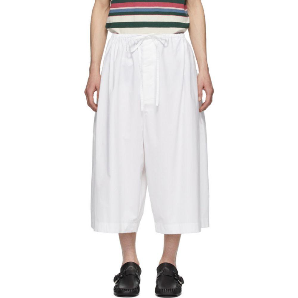 ロエベ Loewe メンズ ショートパンツ ボトムス・パンツ【White Oversized Poplin Shorts】White