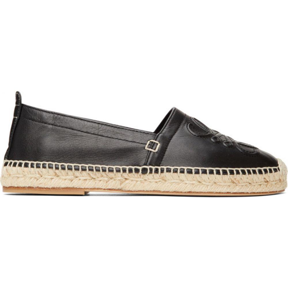 ロエベ Loewe メンズ エスパドリーユ シューズ・靴【Black Anagram Espadrilles】Black