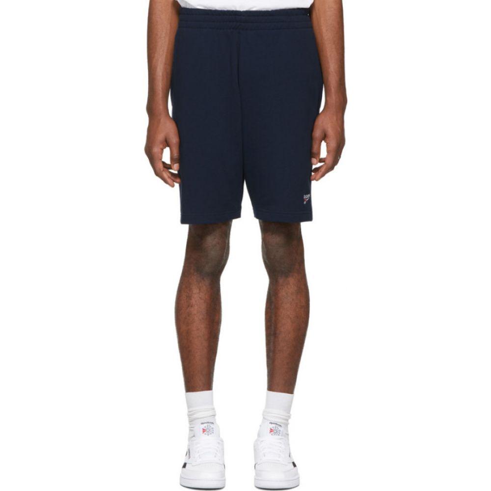 リーボック Reebok Classics メンズ ショートパンツ ボトムス・パンツ【Navy Classic Vector Shorts】College navy