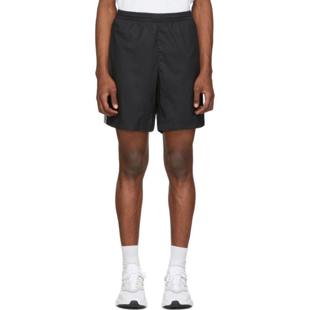 アディダス adidas Originals メンズ ショートパンツ ボトムス・パンツ【Black 3-Stripes Ripstop Shorts】Black