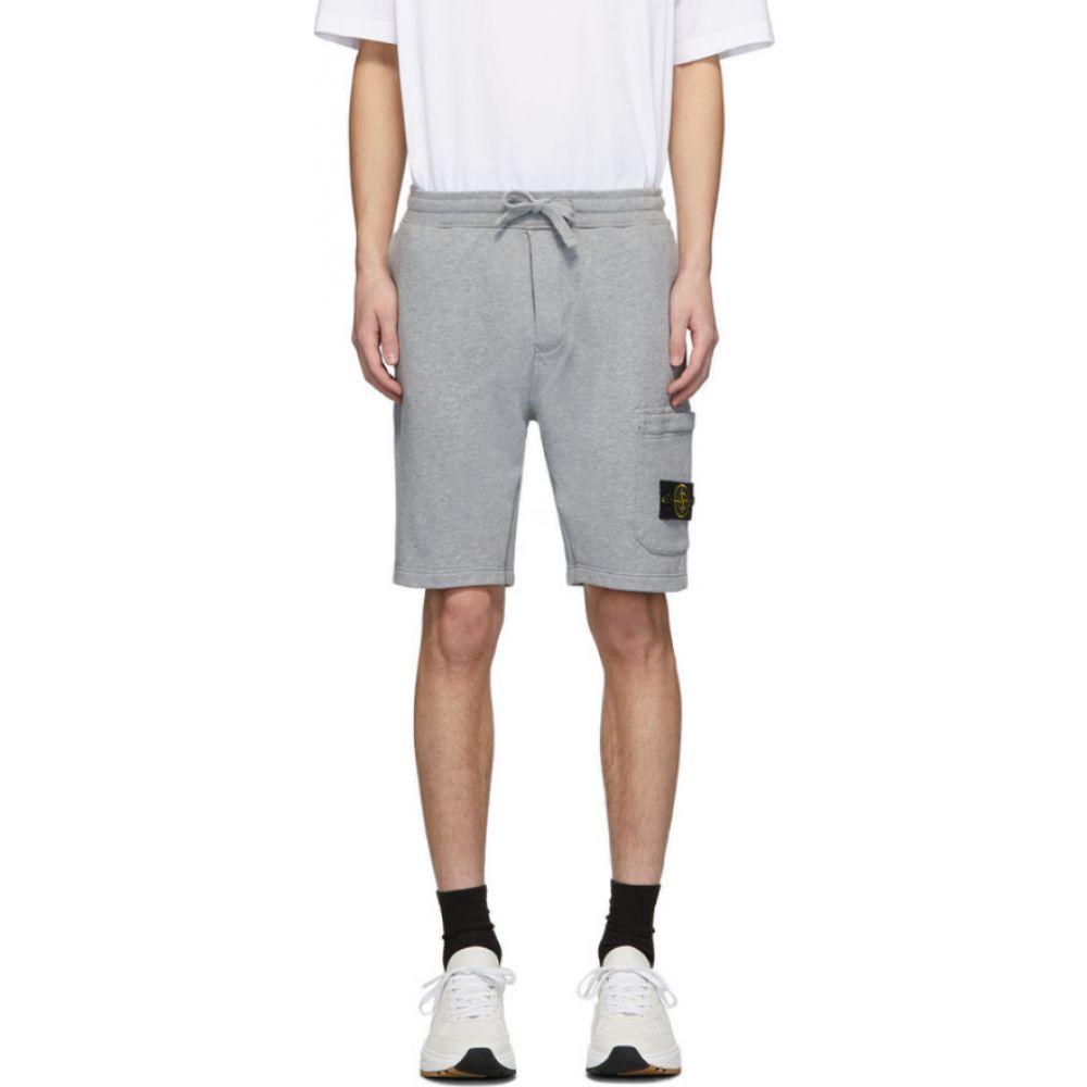 ストーンアイランド Stone Island メンズ ショートパンツ ボトムス・パンツ【Grey Melange Shorts】Melange Grey