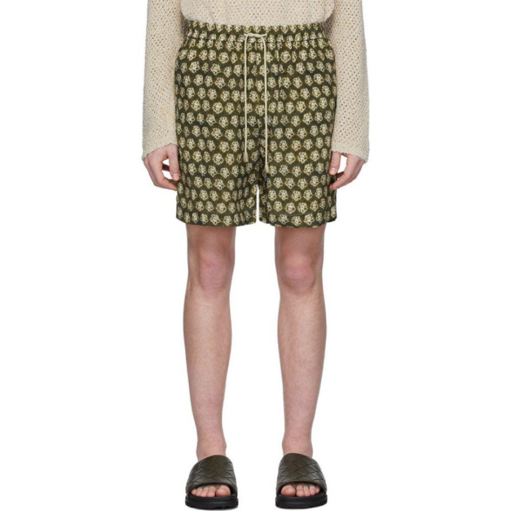ナヌシュカ Nanushka メンズ ショートパンツ ボトムス・パンツ【Green Doxxi Shorts】Batik