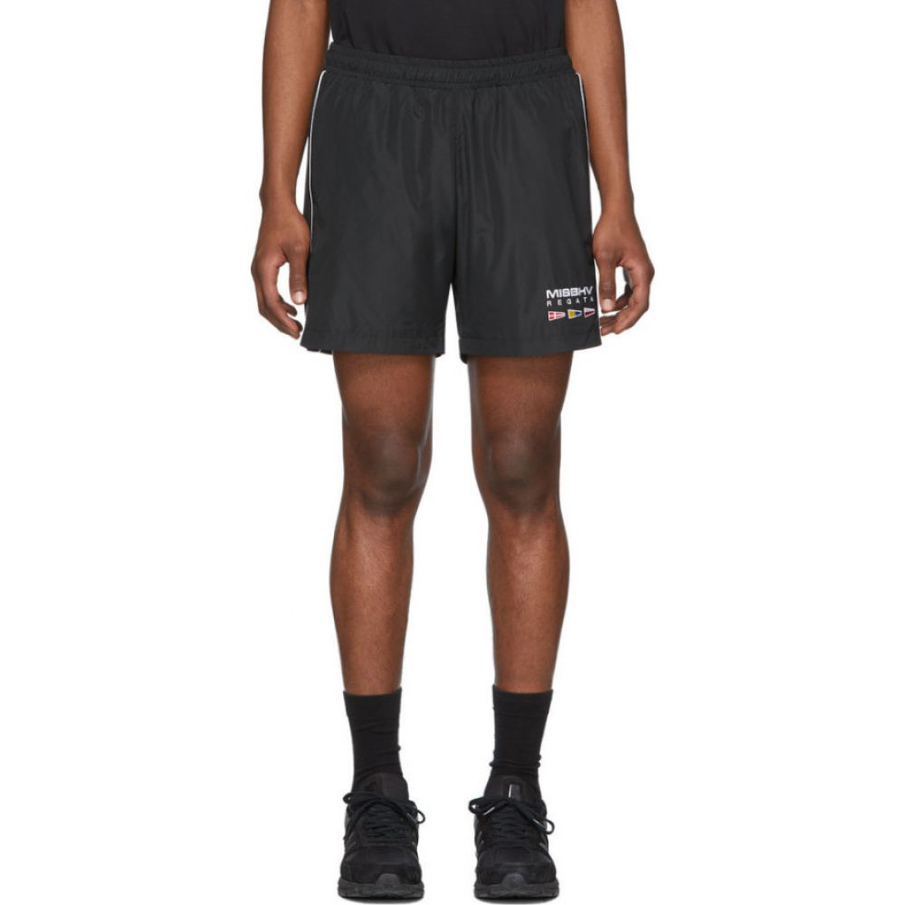 ミスビヘイブ MISBHV メンズ ショートパンツ ボトムス・パンツ【Black The Sailing Shorts】Black