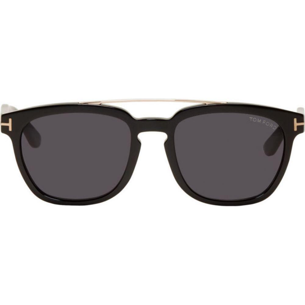 トム フォード Tom Ford メンズ メガネ・サングラス 【Black Holt Sunglasses】Black