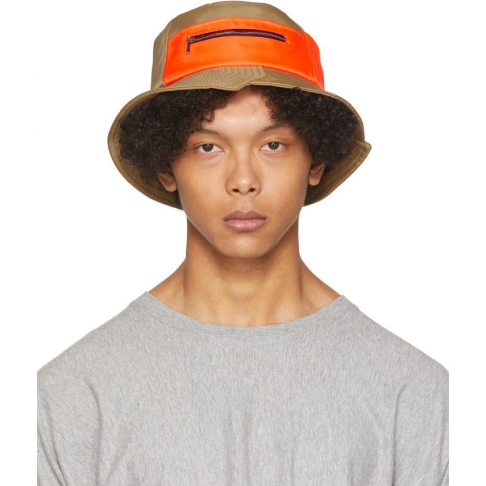 フェン チェン ワン Feng Chen Wang メンズ ハット バケットハット 帽子【Beige Bucket Hat】Beige