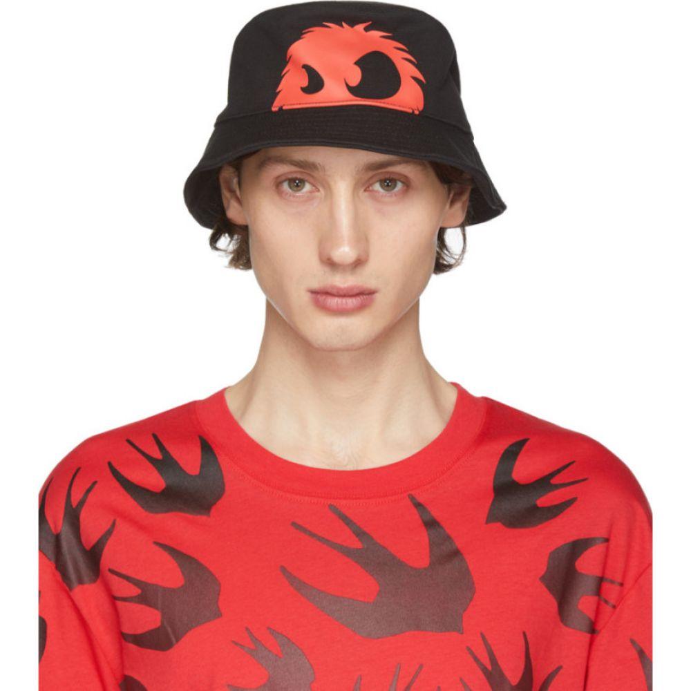 アレキサンダー マックイーン McQ Alexander McQueen メンズ ハット バケットハット 帽子【Black & Red Chester Bucket Hat】Black/Red