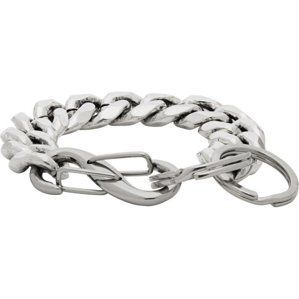 マーティンアリ Martine Ali メンズ ブレスレット ジュエリー・アクセサリー【Silver S-Cuban Bracelet】Silver