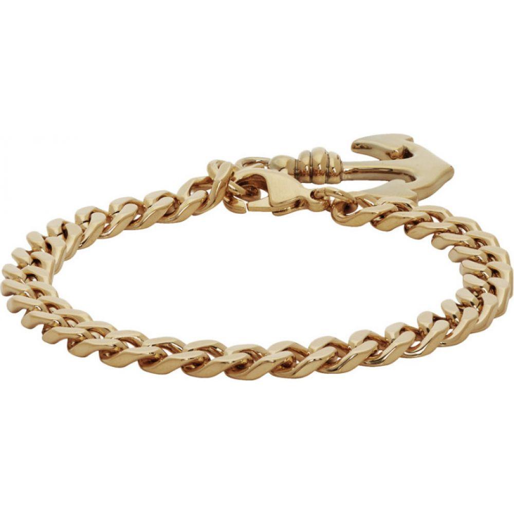 アーペーセー A.P.C. メンズ ブレスレット ジュエリー・アクセサリー【Gold Marin Bracelet】Gold