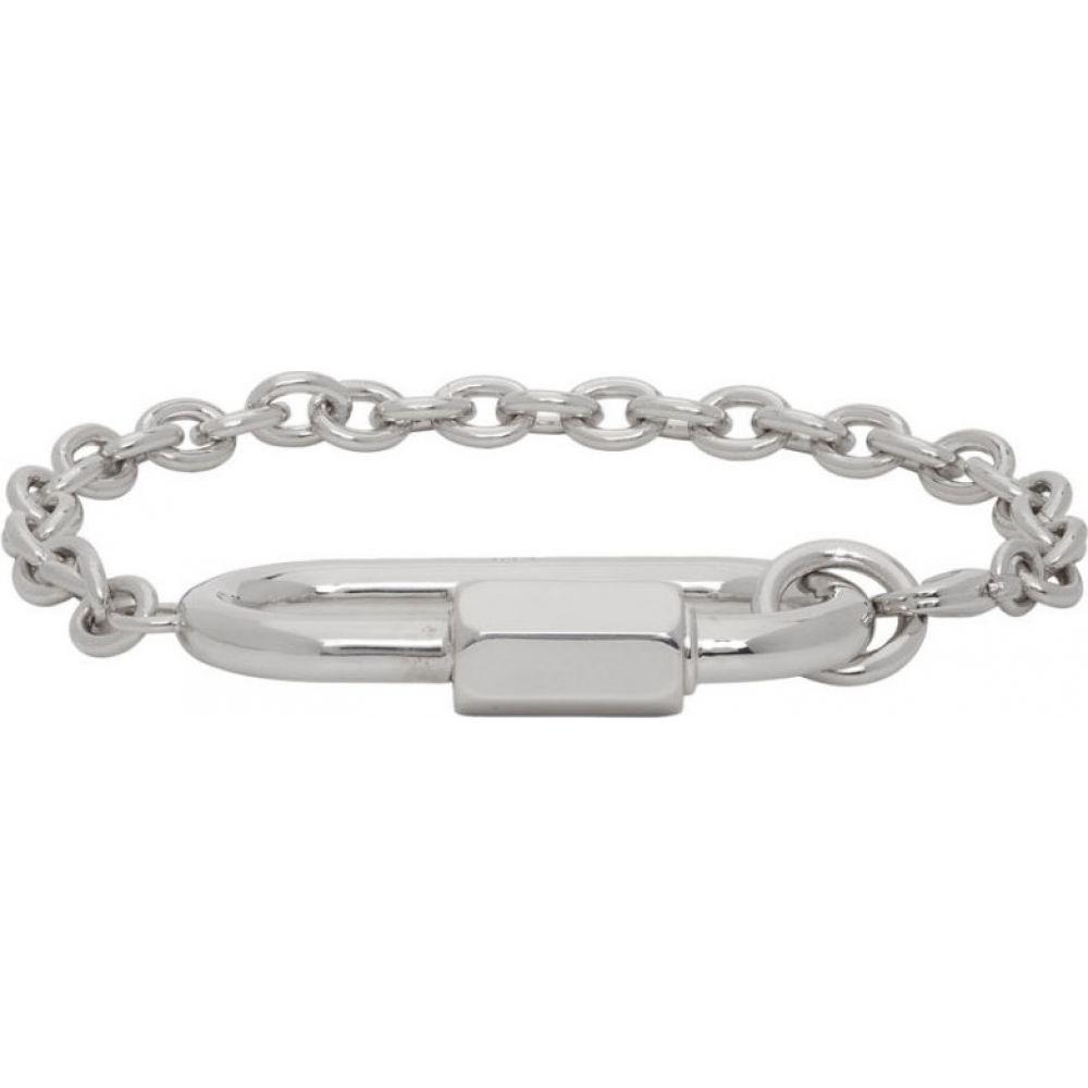 アーペーセー A.P.C. メンズ ブレスレット ジュエリー・アクセサリー【Silver Max Bracelet】Silver