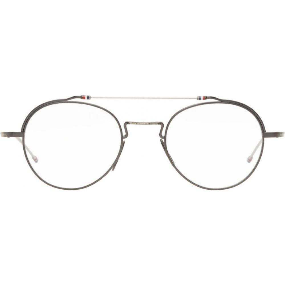 トム ブラウン Thom Browne メンズ メガネ・サングラス 【Gunmetal & Silver TBX912 Glasses】Gunmetal/Silver