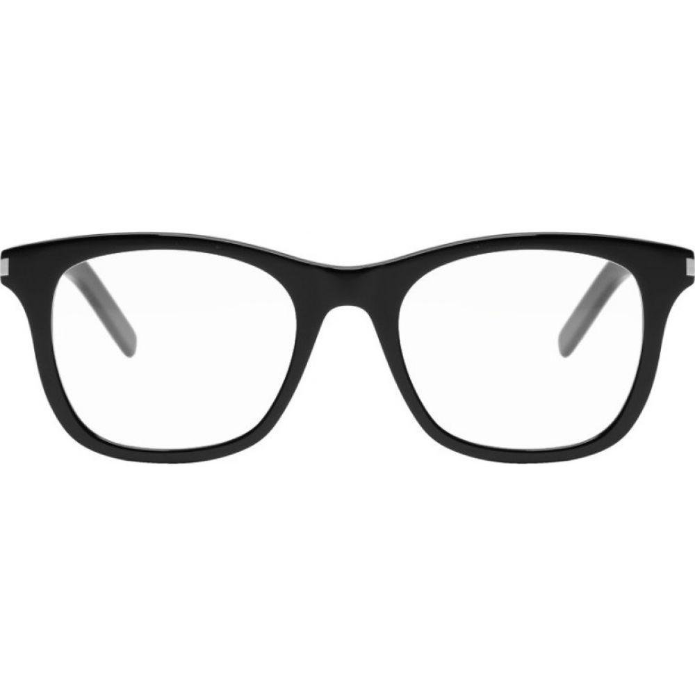 イヴ サンローラン Saint Laurent メンズ メガネ・サングラス 【Black SL 286S Glasses】Black