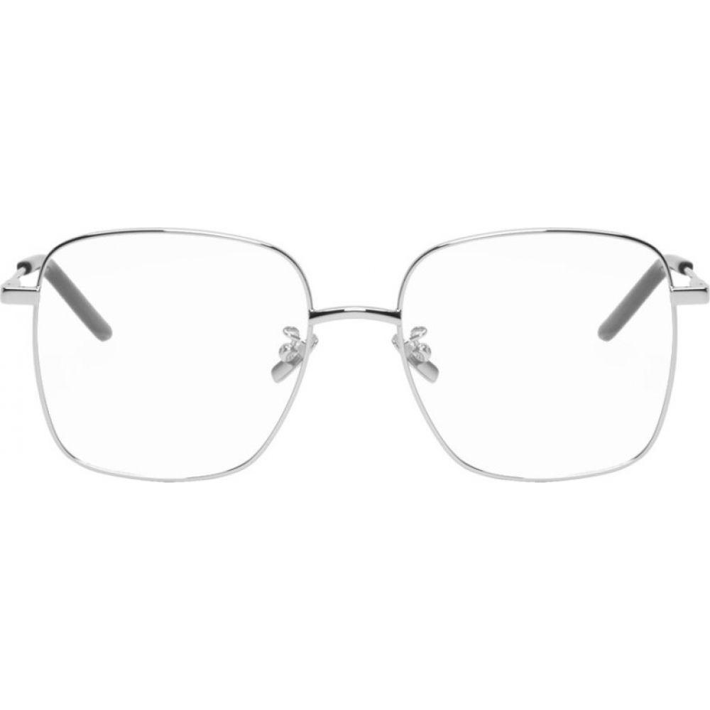 イヴ サンローラン Saint Laurent メンズ メガネ・サングラス 【Silver SL 314 Glasses】Silver