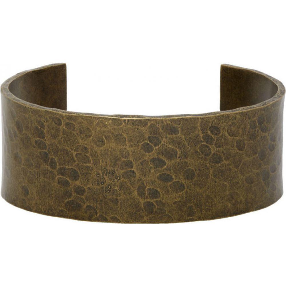 イヴ サンローラン Saint Laurent メンズ ブレスレット ジュエリー・アクセサリー【Bronze Martele Bracelet】Bronze