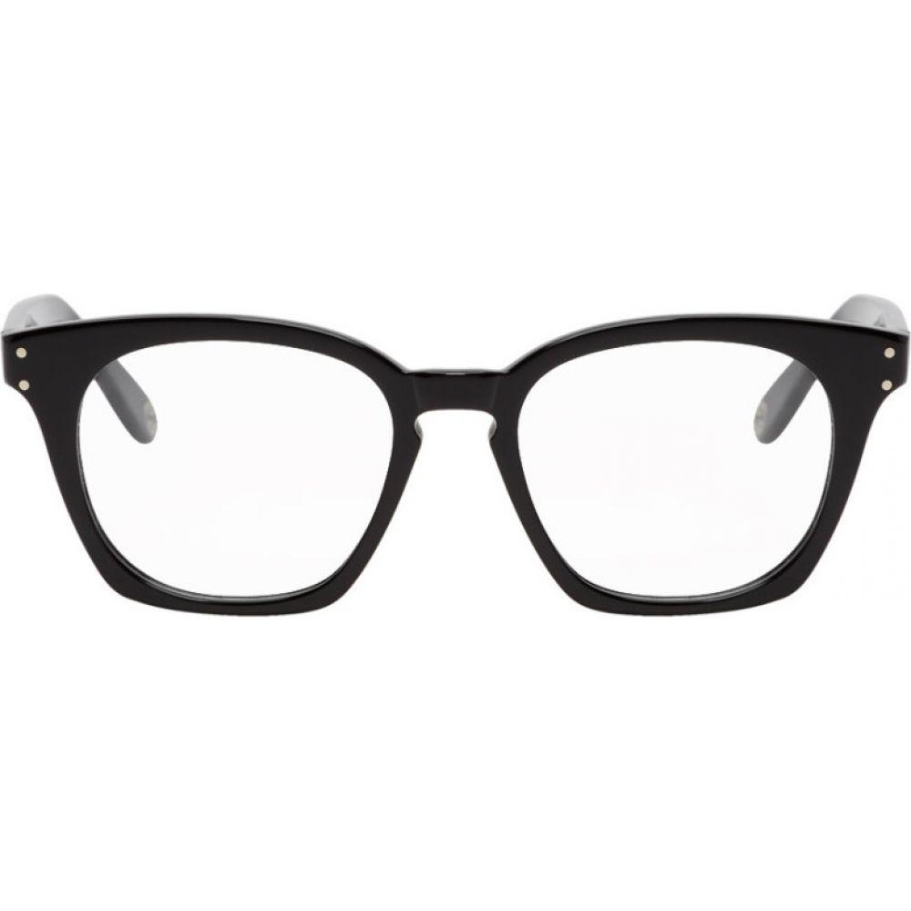 グッチ Gucci メンズ メガネ・サングラス 【Black Square Glasses】Black