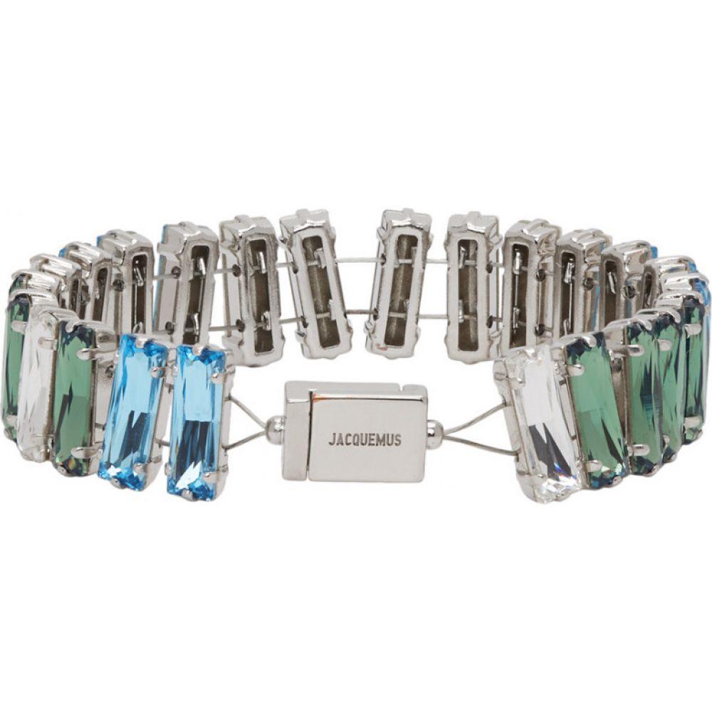 ジャックムス Jacquemus メンズ ブレスレット ジュエリー・アクセサリー【Blue 'Le Bracelet Estello' Bracelet】Blue
