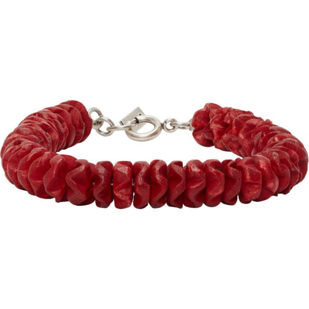 イザベル マラン Isabel Marant メンズ ブレスレット ジュエリー・アクセサリー【Red Gilberto Bracelet】Red
