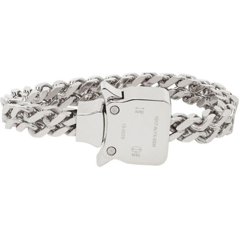 アリクス 1017 ALYX 9SM メンズ ブレスレット ジュエリー・アクセサリー【Silver Cubix Mini Bracelet】Silver