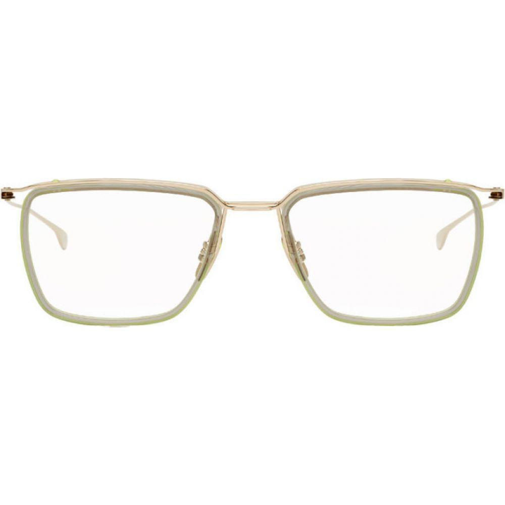 ディータ Dita メンズ メガネ・サングラス 【Gold Schema-One Glasses】White gold