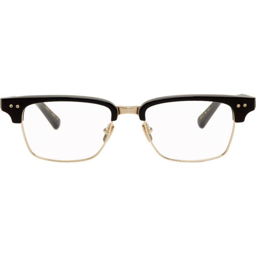 ディータ Dita メンズ メガネ・サングラス 【Black & Gold Statesman-Three Glasses】Black/Gold