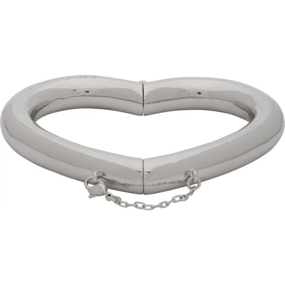 アンブッシュ Ambush メンズ ブレスレット ハート ジュエリー・アクセサリー【Silver Pipe Heart Bracelet】Silver