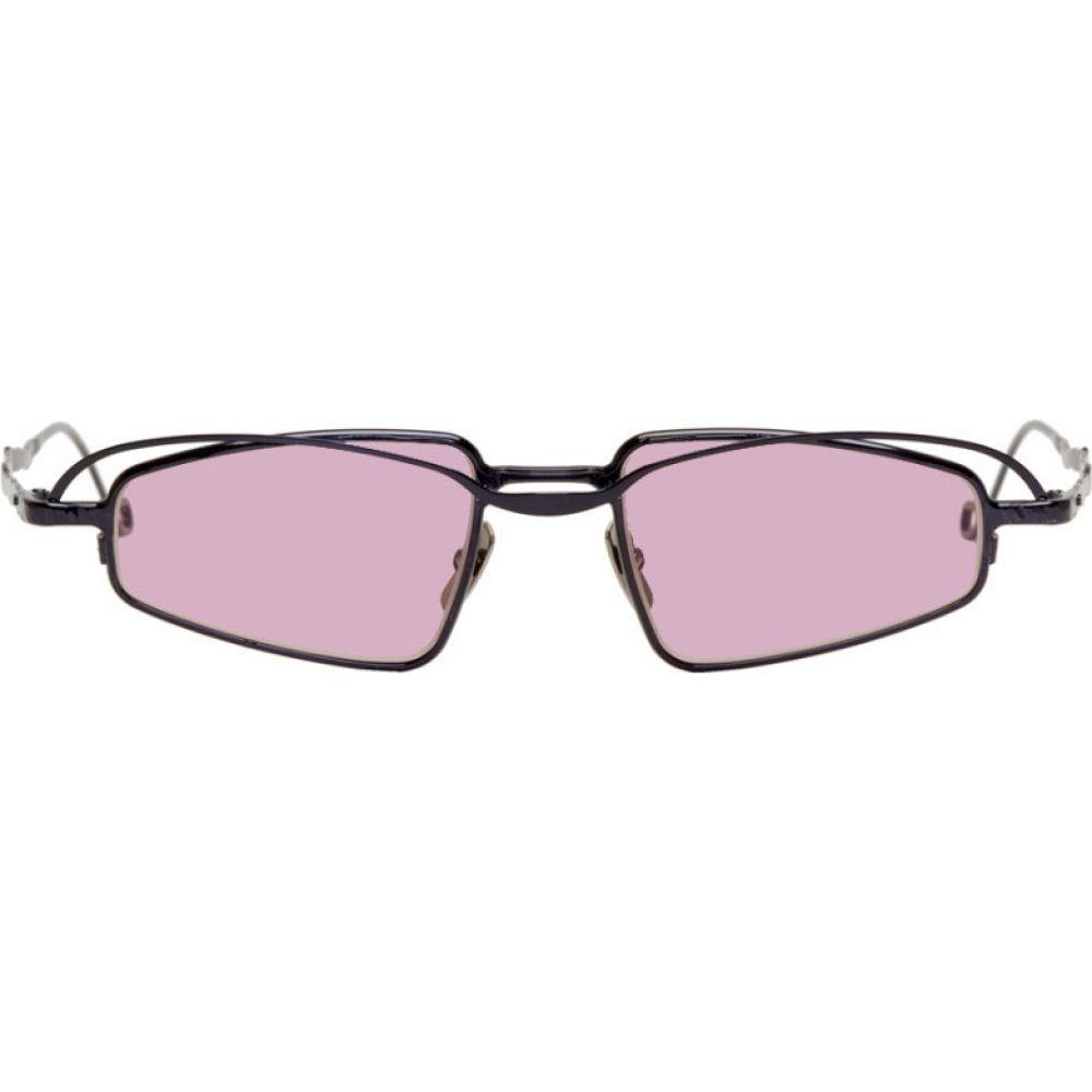 クボラム Kuboraum メンズ メガネ・サングラス 【Black & Pink H73 BL Sunglasses】Black/Pink