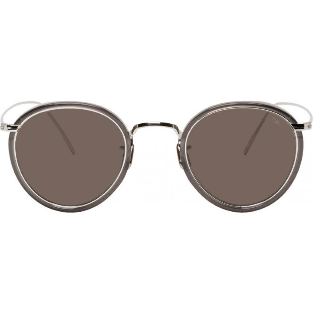 アイヴァン Eyevan 7285 メンズ メガネ・サングラス 【Silver 717E Sunglasses】