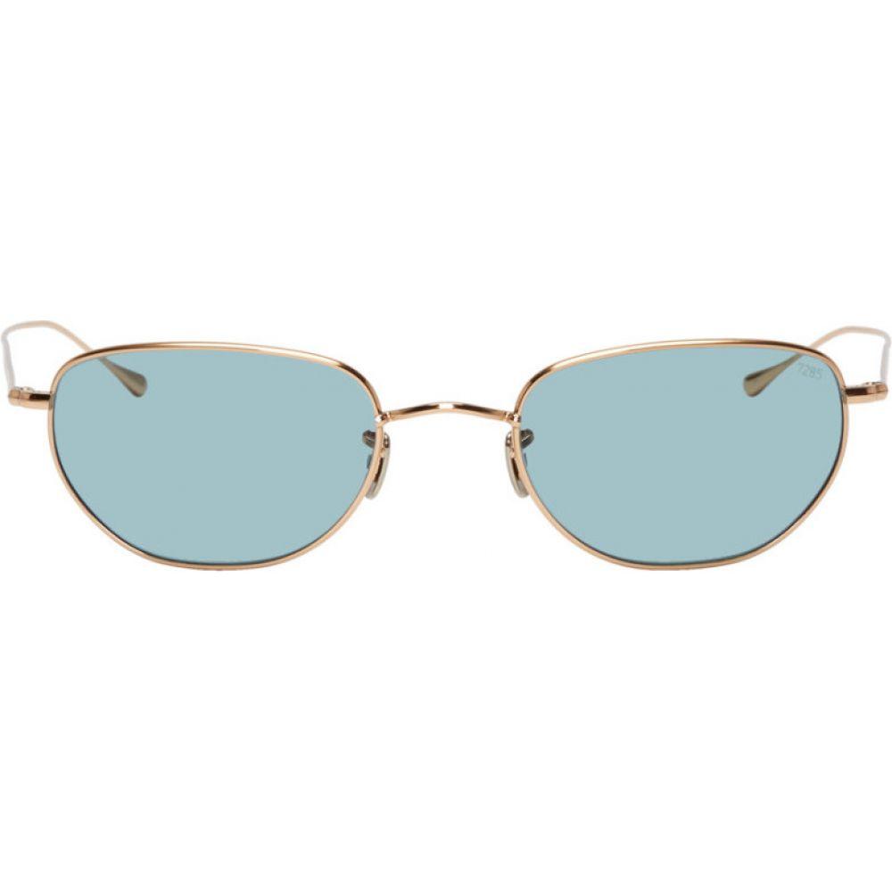 アイヴァン Eyevan 7285 メンズ メガネ・サングラス 【Gold & Blue 161(52) Sunglasses】
