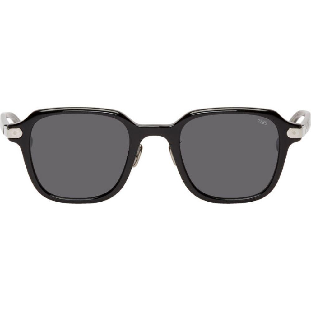 アイヴァン Eyevan 7285 メンズ メガネ・サングラス 【Black 728 Sunglasses】