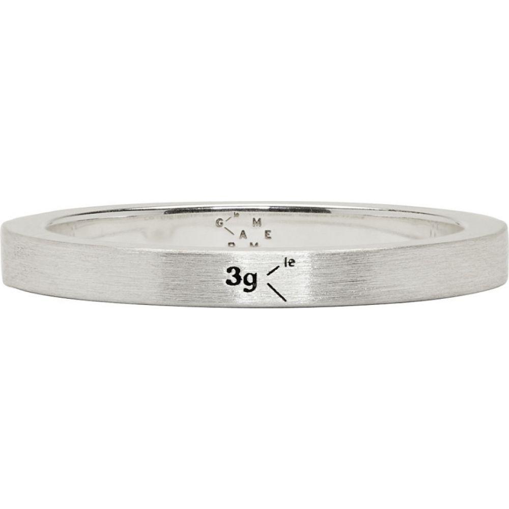 ルグラム Le Gramme メンズ 指輪・リング ジュエリー・アクセサリー【Silver Brushed 'Le 3 Grammes' Ring】