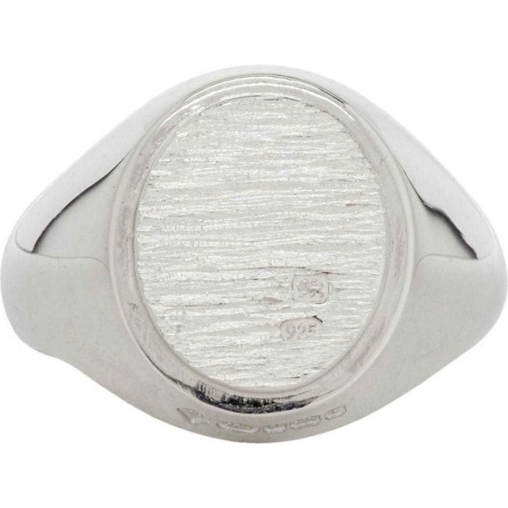 バニー Bunney メンズ 指輪・リング ジュエリー・アクセサリー【Silver Bark Signet Ring】