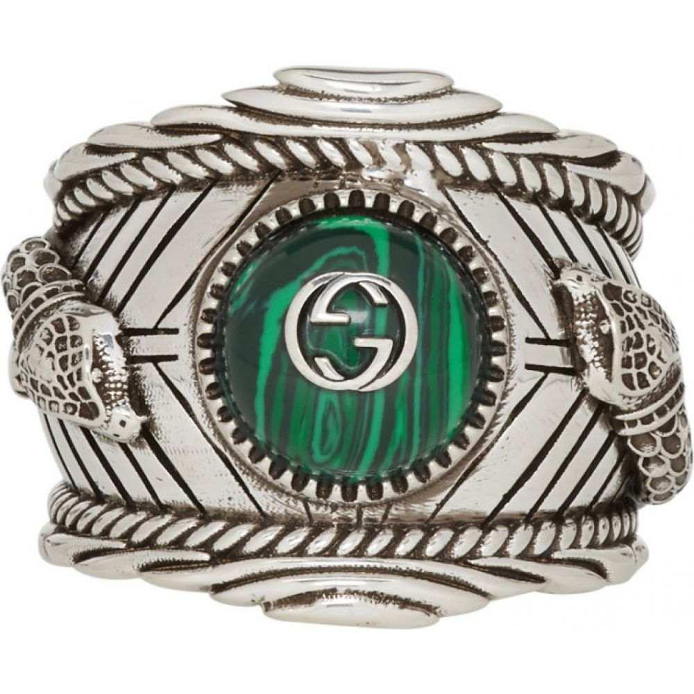 グッチ Gucci メンズ 指輪・リング ジュエリー・アクセサリー【Silver Garden Logo Ring】