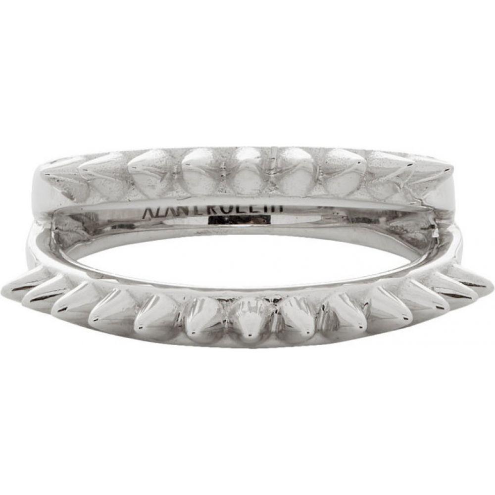 アラン クロセッティ Alan Crocetti メンズ 指輪・リング ジュエリー・アクセサリー【Silver Mini Space Spur Ring】Silver