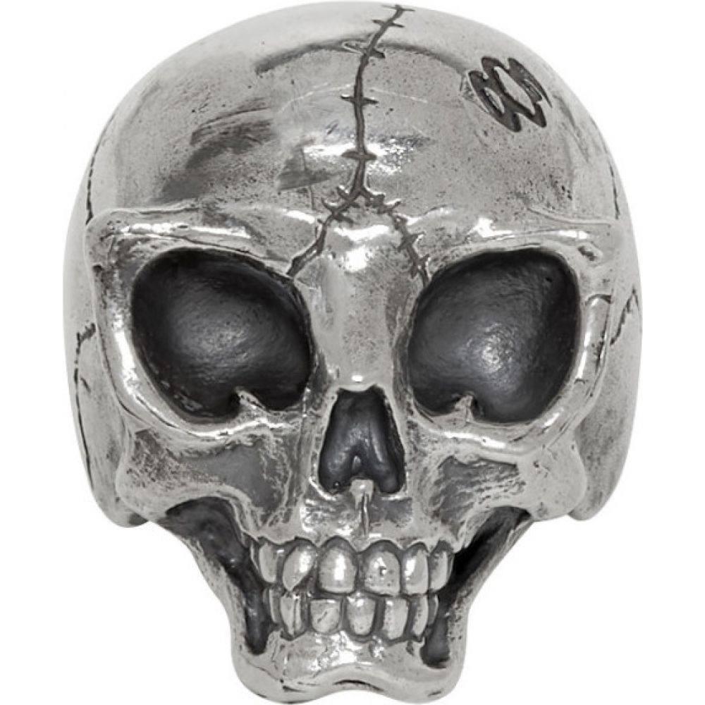 ヨウジヤマモト Yohji Yamamoto メンズ 指輪・リング ジュエリー・アクセサリー【Silver Alien Skull Ring】Silver
