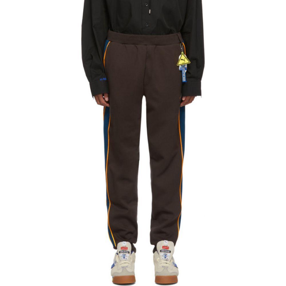 アーダーエラー ADER error メンズ スウェット・ジャージ ボトムス・パンツ【Brown Puma Edition T7 Lounge Pants】Mole brown
